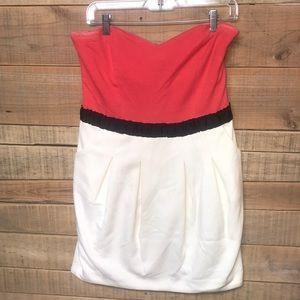 KARLIE strapless dress with pockets•worn once